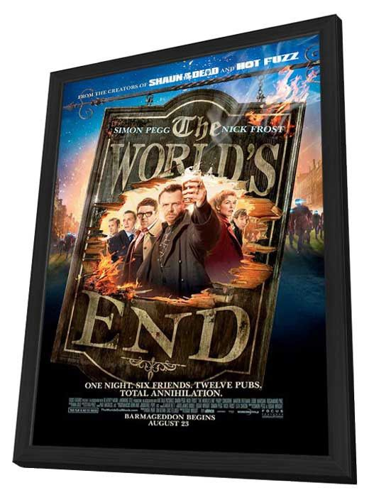 The World's End 27x40 Framed Movie Poster (2013)