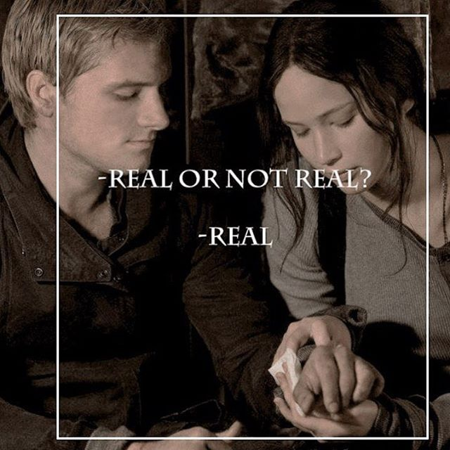 I have one more of these but i like them ❤️ #Katniss #Peeta #RealorNotReal #Real #mockingjay