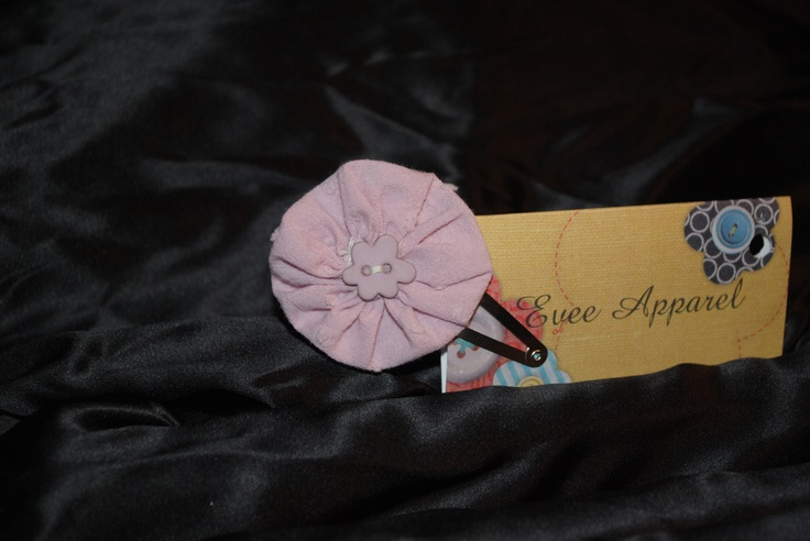 little girls hair clip dusty pink find this one and more at www.facebook.com/eveeapparel