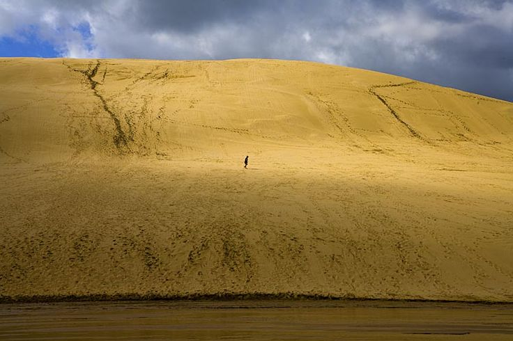Sand dunes at Te Paki,  see more at New Zealand Journeys app for iPad www.gopix.co.nz
