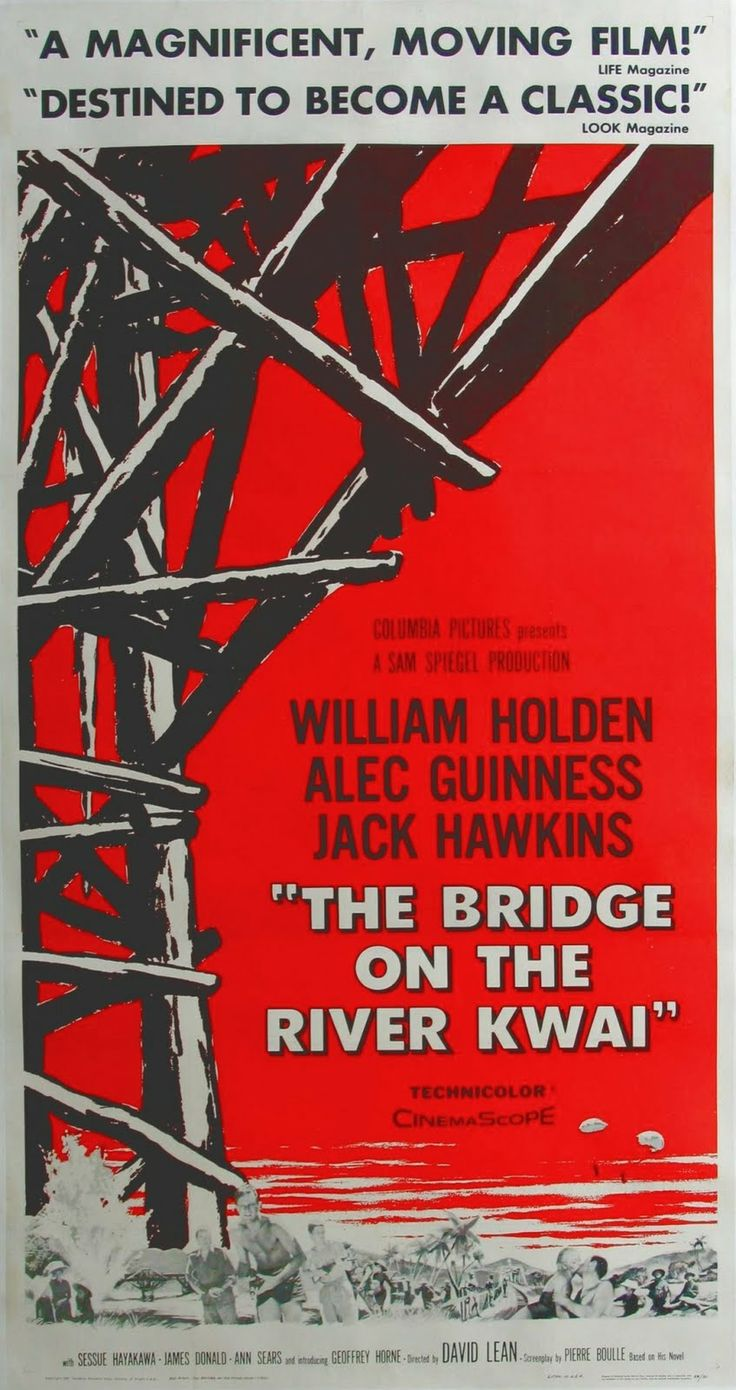 the bridge over the river kwaii essay The bridge on the river kwai essay examples the bridge onthe river kwai -a few good men versus the bridge on the river kwai and a few good men.