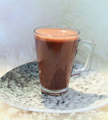 Blondie kookt: Gezonde warme chocolademelk