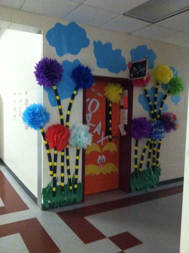 Classroom Decorations Dr Seuss ~ Best the lorax images on pinterest dr suess door