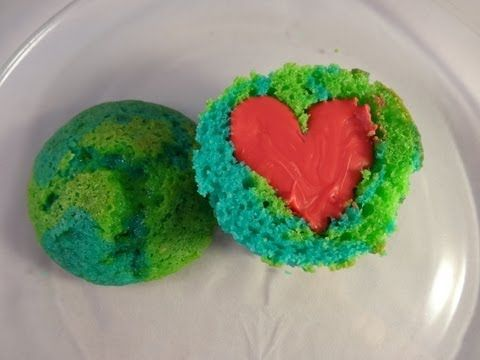 Decorating Cupcakes # 119: Earth Day