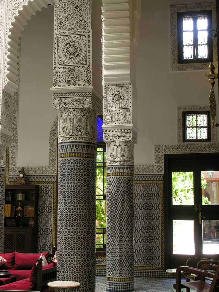 The highest level of Moroccan craftsmanship is displayed to perfection in large classical Moroccan houses, found in cities like Fez. Recreate this look at home with the help of Maroque http://www.maroque.co.uk/catalog.aspx