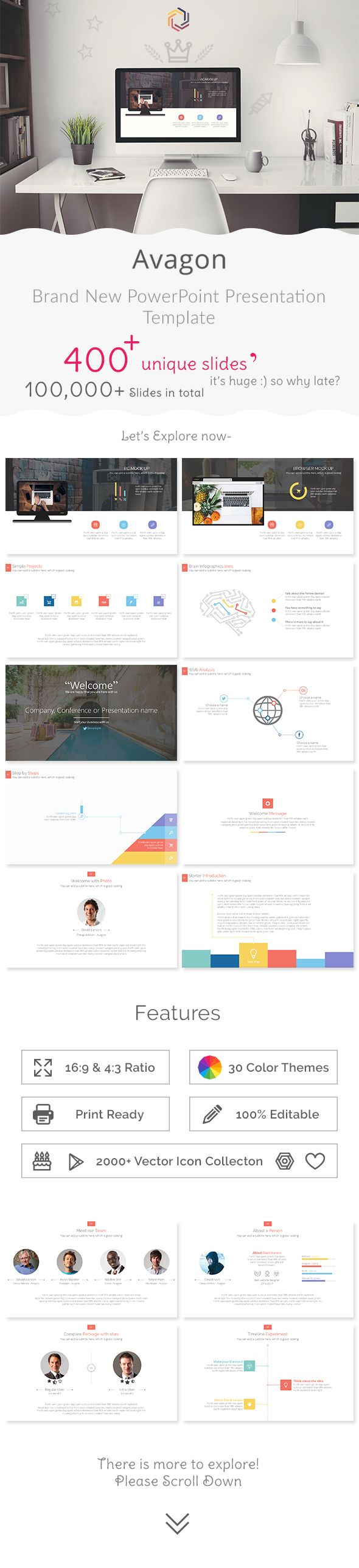 Avagon Multipurpose PowerPoint Presentation Template