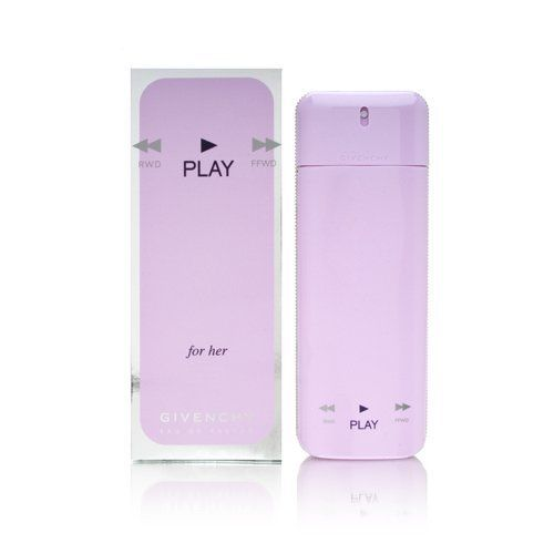 PLAY BY GIVENCHY, EDP SPRAY 1.7 OZ !@ by GIVENCHY. $115.82. GIVENCHY PLAY 1.7 FL. OZ. EAU DE PARFUM SPRAY WOMEN. DESIGNER:GIVENCHY