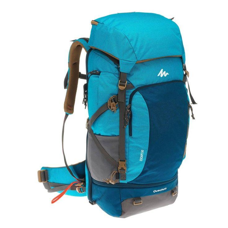 Compre Mochila de trekking 50L Escape feminina Quechua em oferta. Tudo de Mochilas de Trekking 50 a 90 litros - Vários Dias para praticar o esporte que você é apaixonado. Acesse a Decathlon agora!