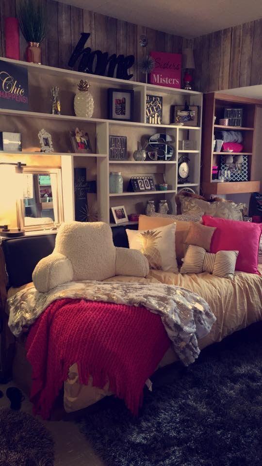 Cozy U0026 Cute Dorm Room Decor Ideas For College Girls, Pink, Blue, Grey Part 97