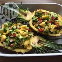 Mango-Ananas Salsa- Nachdem ich mehrere Rezepte ausprobiert habe und einigem Experimentieren ist dieses Rezept entstanden. So wird Lemon Curd meiner Meinung nach am besten. @ de.allrecipes.com
