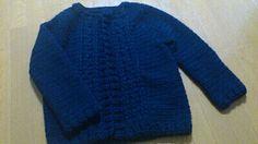 【編み図付き】かぎ針で編む縄編み模様のカーディガン   かぎ針編み・無料編み図 ATELIER *mati*