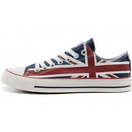 Converse all star Ox UK Flag