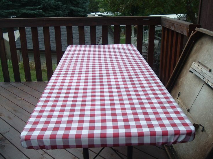 Fitted Folding Table Covers Picnic