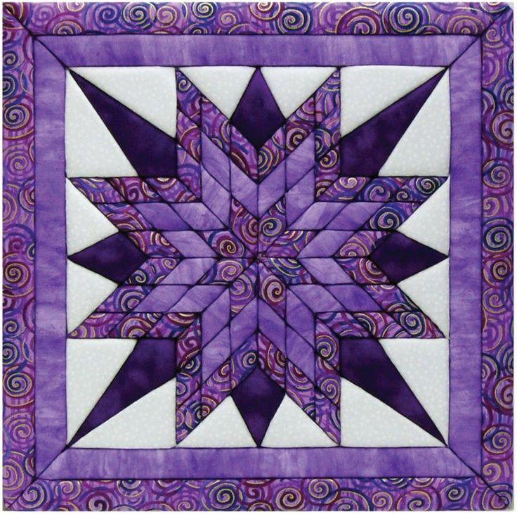 Starburst Quilt My Love Purple Pinterest