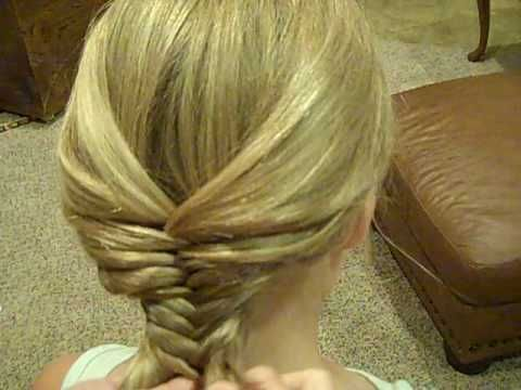 I never realized that this braid was so simple. I watched this video and did it for my daughter. So easy and pretty.