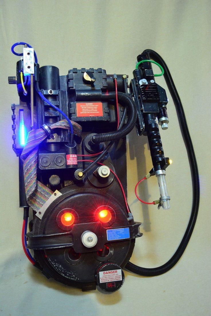 Dettagli Su Ghostbusters 2 Screen Accurate E Ticket Proton