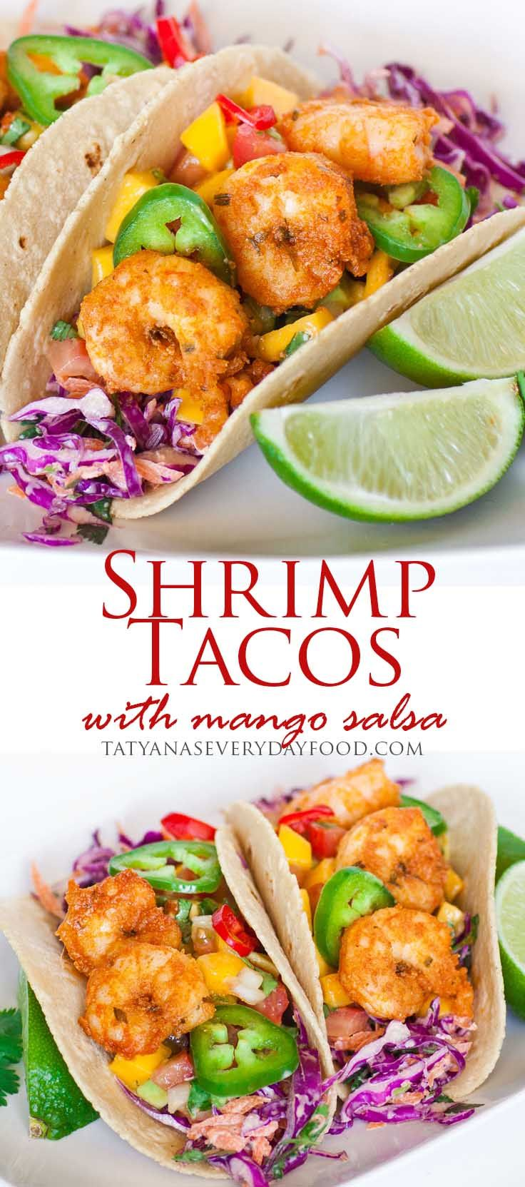 Plump Cajun shrimp with a creamy red cabbage slaw and a zesty mango-avocado salsa! These easy shrimp tacos are the perfect summer-time meal and will take you right back to the Caribbean! Enjoy them outdoors with a cold light beer or margarita! For all the recipe details, watch my video recipe by clicking on the […]