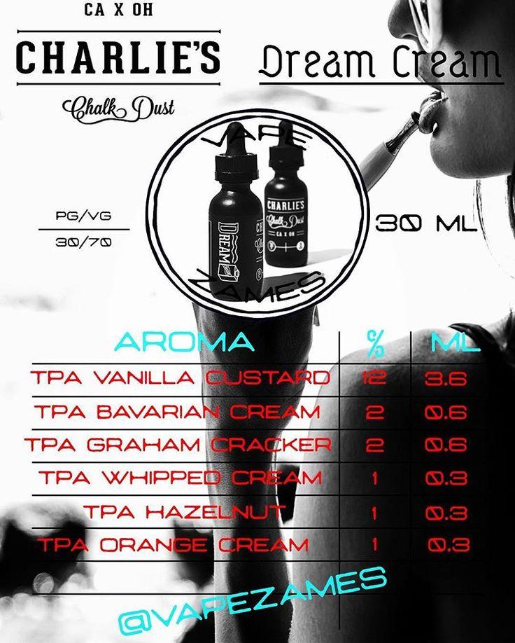 Charlie's Chalk Dust, Dream Cream (Vapezames)