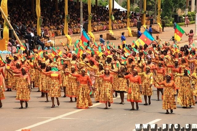 In Cameroon, women from all walks of life gathered in Yaounde as bearers of various affirmations on development, peace, political and gender equality, employment, education access and human rights as they passed along the capital city's 20th May Boulevard in a march past chaired by the first lady, Chantal Biya.