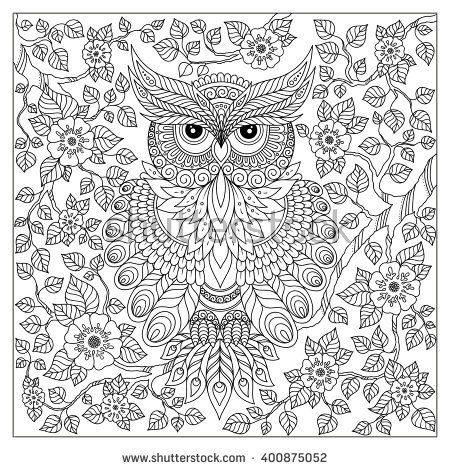 Coloring Pages For Adults Difficult Abstract Horizontal