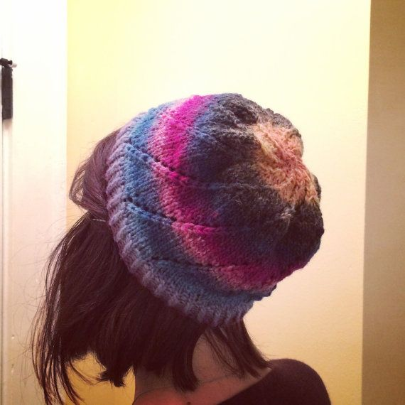 Cool Noro Beanie  by KnittedWool on Etsy $38