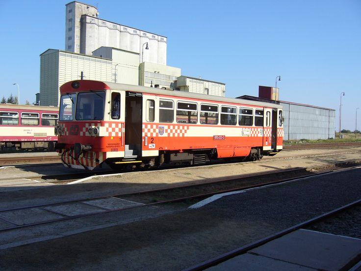 Šukafon (810) in railway station Jemnice (2006). Now out of service railway line Moravské Budějovice- Jemnice