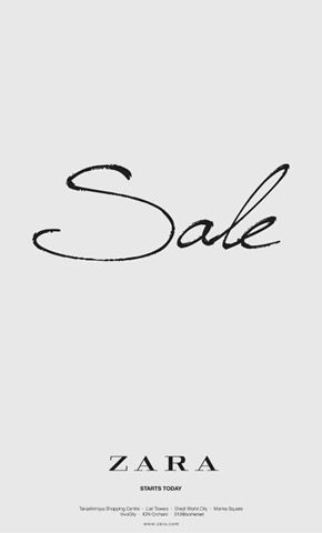Sale sign, simply beautyful