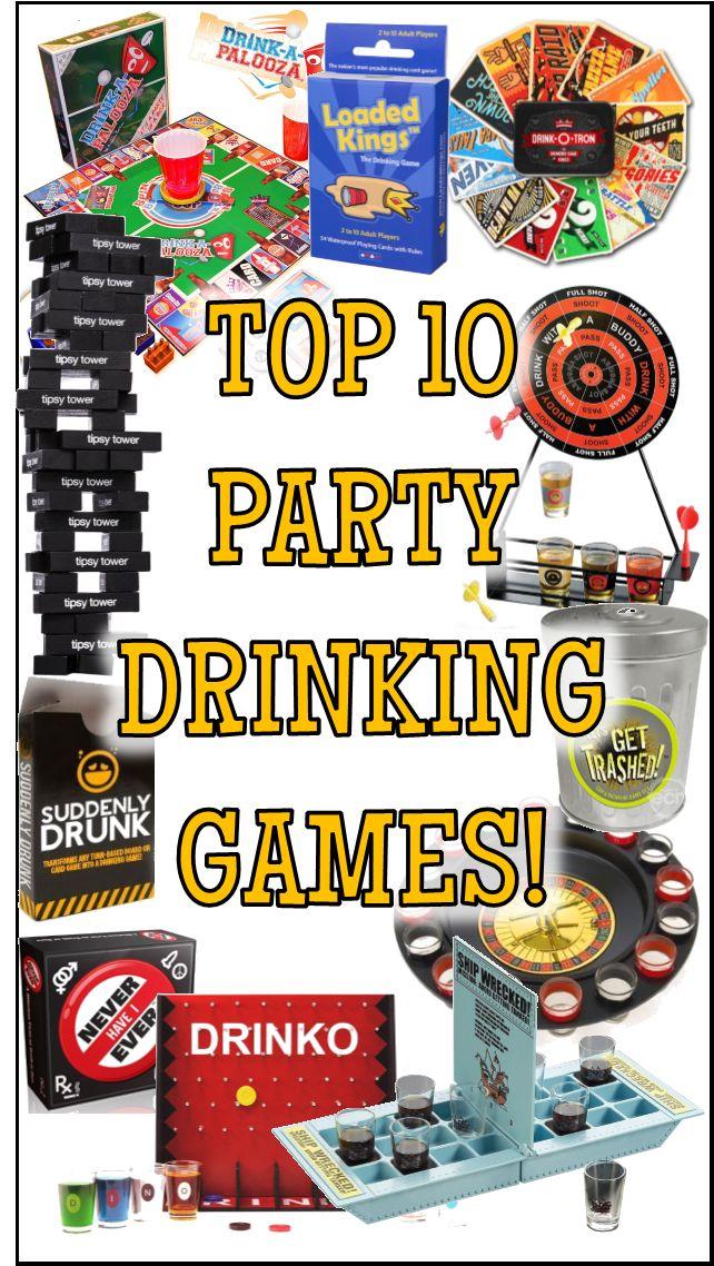 More Fun Drinking Games