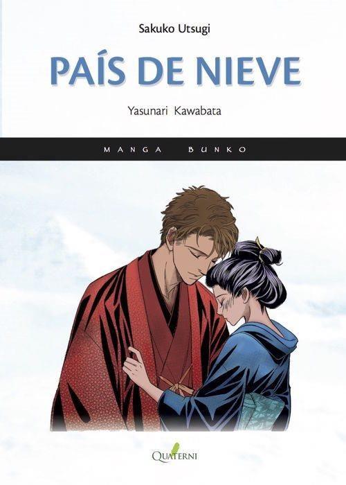 """Adaptación de """"País de nieve"""", la obra cumbre de Yasunari Kawabata (primer japonés en ganar el Premio Nobel de Literatura) ilustrada por Sakuko Utsugi.  La inolvidable historia de amor entre un hombre rico de mediana edad que intenta escapar de la rutina de su matrimonio y una joven aprendiz de geisha. ENLACE AL CATÁLOGO https://www.juntadeandalucia.es/cultura/rbpa/abnetcl.cgi?&SUBC=CO/CO00&ACC=DOSEARCH&xsqf99=(978-84-943449-1-6.t020.)"""