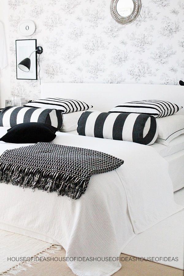 Bedroom black&white HOUSE of IDEAS http://myhouseofideas.blogspot.de/