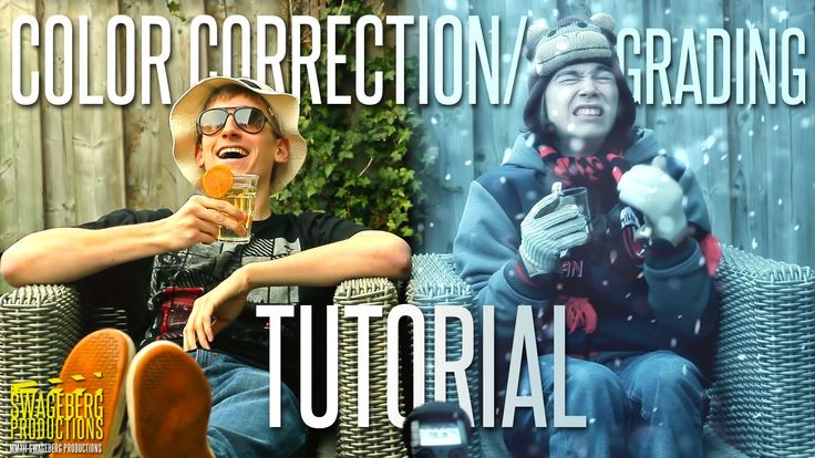 @EyeofMilan Here's our much requested Color Correction/Grading Tutorial. We're using After Effects for this one and some Red Giant plug-ins like Colorista II...