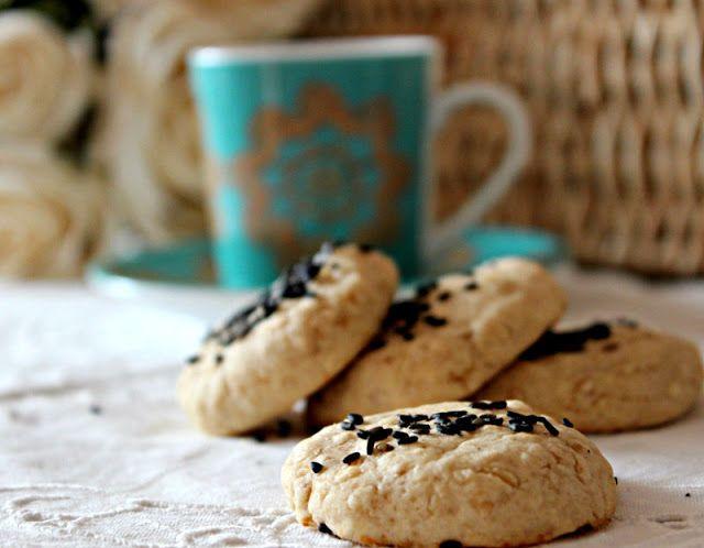 Cozinhadaduxa: Biscoitos Crocantes com Gengibre e Sésamo