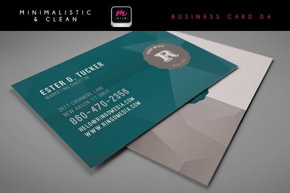 Clean Business Card Template 04 Business Cards Creative Templates Cleaning Business Cards Business Cards Creative