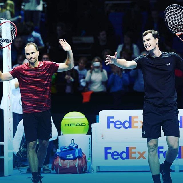 One Murray's made it... Congratulations to Jamie Murray and Bruno Soares - the year-end No.1 doubles team 🇬🇧🇧🇷👏 #tennis #photooftheday