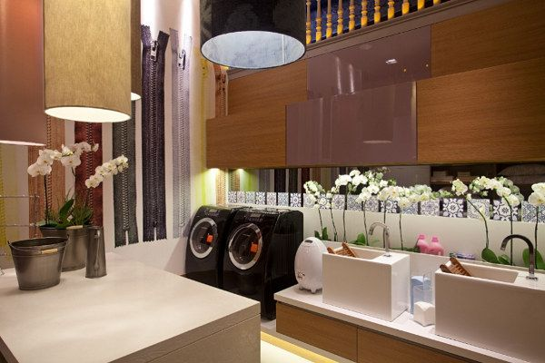 organizadas lavanderia plus lavanderia salle de lavage intérieurs ...