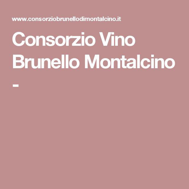 Consorzio Vino Brunello Montalcino -