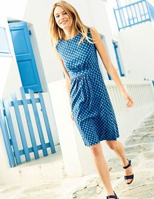 @BodenClothing Easy T-shirt Dress Nothing lifts the spirit like a splash of florals or sunny stripes in an easy-to-wear shape. $88.00