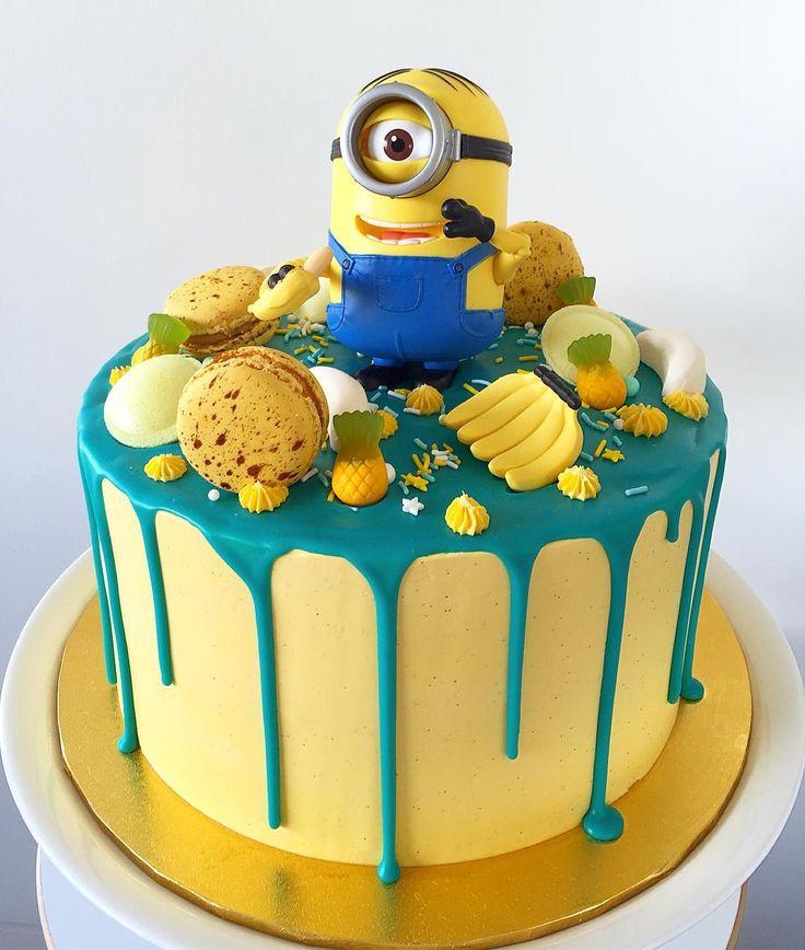 садовая торты миньоны на день рождения фото шагом будет