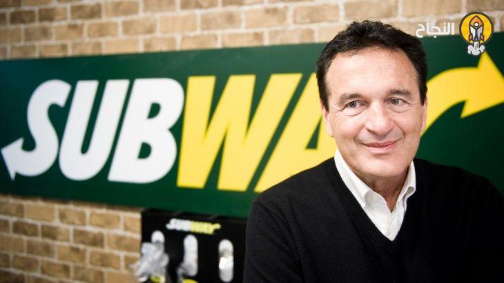 قصة نجاح مؤسس صب واي Subway فريد ديلوكا Branding