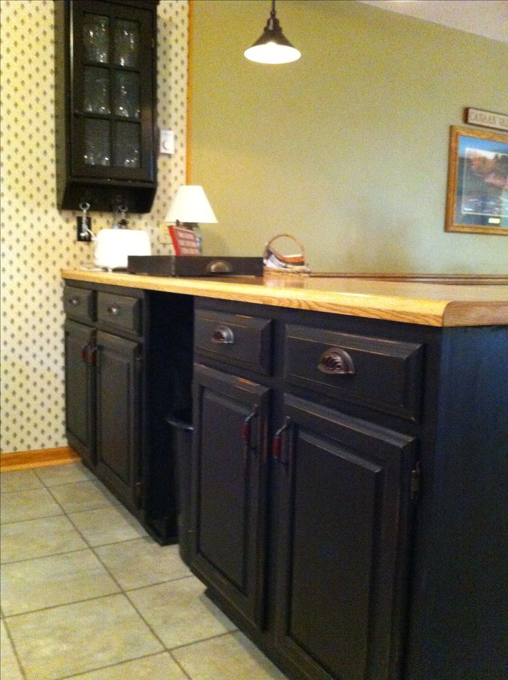 25 best Black distressed cabinets ideas on Pinterest