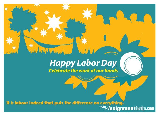 We all know that #LabourDay is an annual public holiday, but did you know that it's to celebrate the eight hour working day? Thanks to Labourers rightfully seeking a better work/life balance, they protested for the eight-hour work day based on the need to have eight hours labour, eight hours recreation and eight hours rest per day, and won!  #ACT, #NSW, #Qld, #SA #Brisbane #Queensland #Monday #Tasmania #Victoria #myassignmenthelp #assignment #essay #dissertation www.myassignmenthelp.com