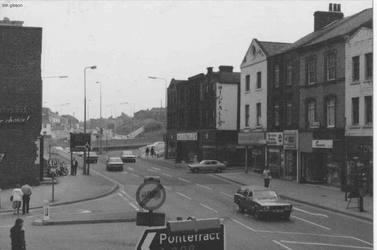 Bottom off Sheffield Rd no site of The Mall now