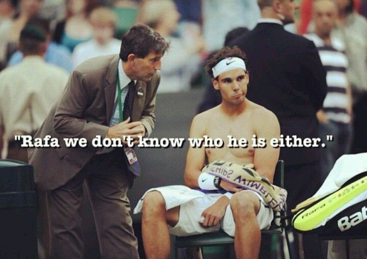 June 24, 2013: Rafa loses to Steve Darcis.