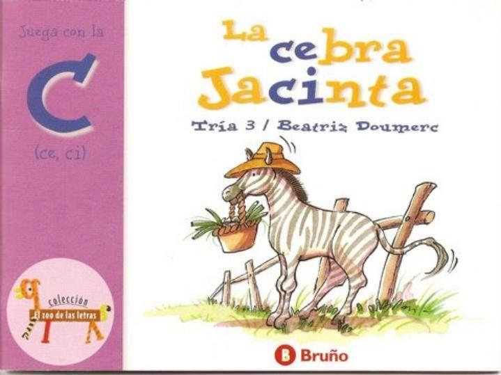 La Cebra Jacinta El Zoo De Las Letras C Digital Publishing Album Books