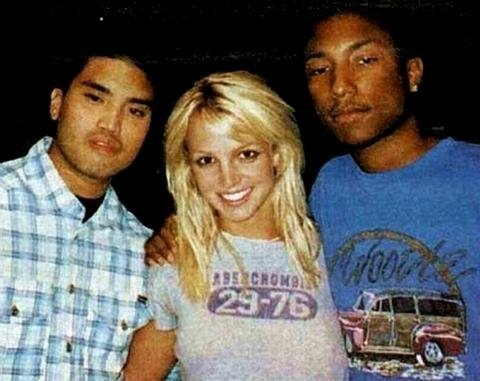Britney Spears in the studio with The Neptunes in 2001Britney Bh, W The Neptune, Britney Bitch, Britneybitch, Spears W The, Brit Lifestyle, Britney B H, Britney Boards, Britney Spears