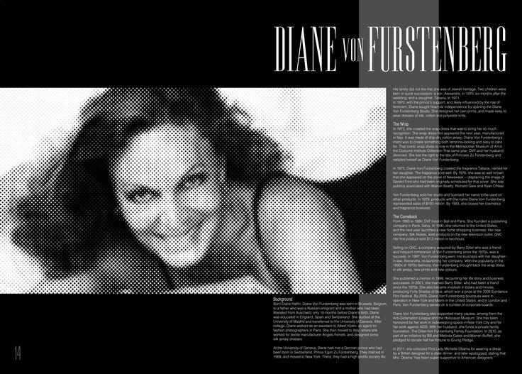 Diane Con Furstenberg.