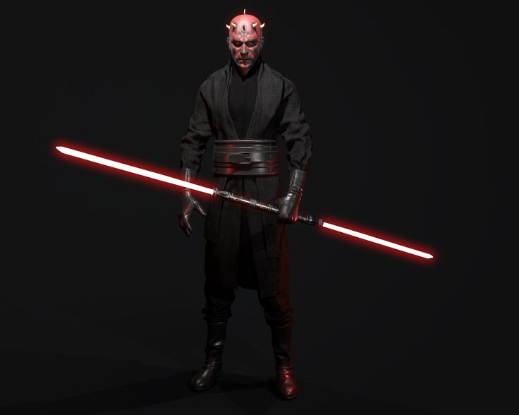 Darth Maul, Angel Axiotis on ArtStation at https://www.artstation.com/artwork/43kv1