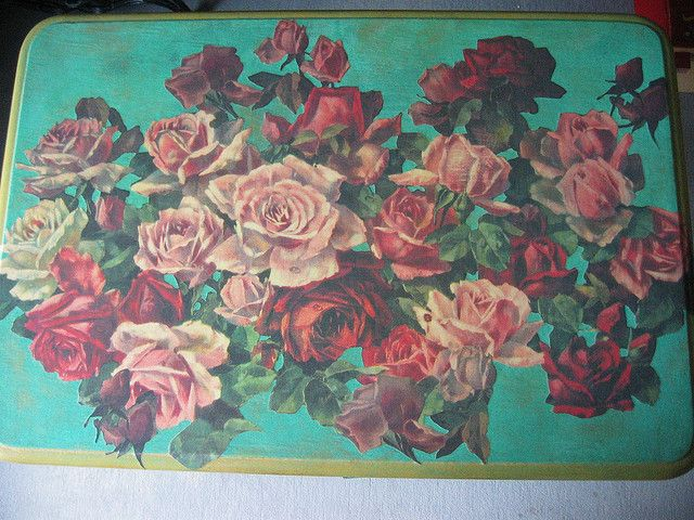 floral decoupage furniture. Decoupage Furniture | Furniture: Top Flickr - Photo Sharing! Floral