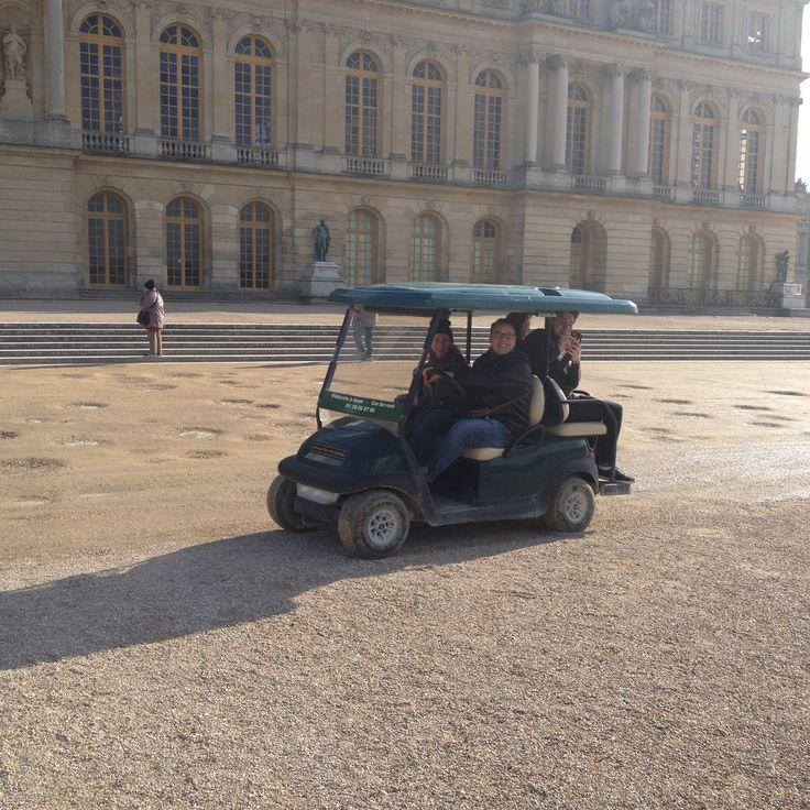 Versailles: Tourists