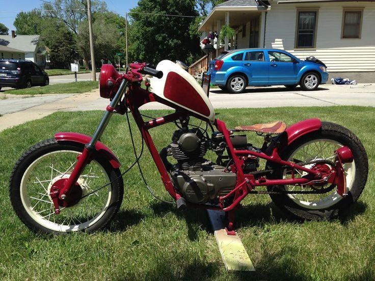 reader rides | 1981 kawasaki 250cc bobber